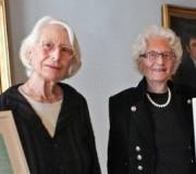 IGFM-Menschenrechts Preisträgerinnen 2011 Dr. h.c. Marthe Gosteli, Worblaufen, BE Prof. Beatrix Mesmer, Bern, BE